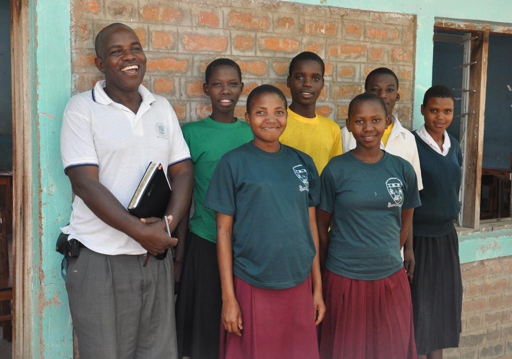 Simba Scholars 2013 with Zawadiana